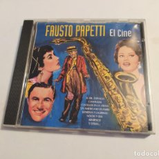 CDs de Música: FAUSTO PAPETTI. EL CINE CD. TDKCD32. Lote 218640722