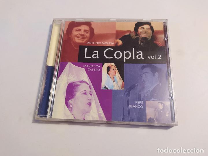 LA COPLA. ANTONIO MOLINA. ESTRELLITA CASTRO. PEPE BLANCO. VOL. VOLUMEN 2. TDKCD32 (Música - CD's Flamenco, Canción española y Cuplé)