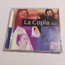 CDs de Música: LA COPLA. ANTONIO MOLINA. ESTRELLITA CASTRO. PEPE BLANCO. VOL. VOLUMEN 2. TDKCD32. Lote 218640982