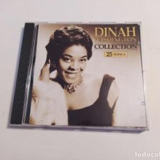 CDs de Música: DINAH WASHINGTON COLLECTION. 25 SONGS CD. TDKCD32. Lote 218642195