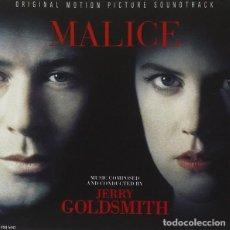 CDs de Música: MALICE / JERRY GOLDSMITH CD BSO. Lote 218647373