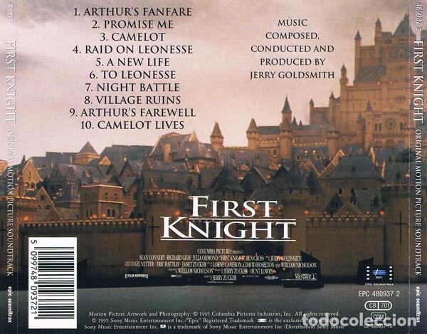 CDs de Música: FIRST KNIGHT / Jerry Goldsmith CD BSO - Foto 2 - 218647970
