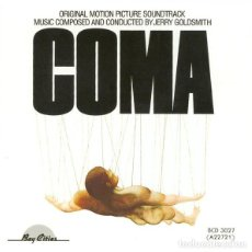 CDs de Música: COMA / JERRY GOLDSMITH CD BSO. Lote 218648337