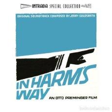 CDs de Música: IN HARM´S WAY / JERRY GOLDSMITH CD BSO - INTRADA. Lote 218648443