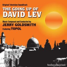 CDs de Música: THE GOING UP OF DAVID LEV / JERRY GOLDSMITH CD BSO. Lote 218648551
