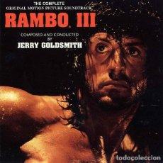 CDs de Música: RAMBO III / JERRY GOLDSMITH CD BSO. Lote 218649198