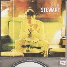 CDs de Música: ROD STEWART - I CAN'T DENY IT (CDSINGLE CAJA, ATLANTIC RECORDS 2001). Lote 218668748