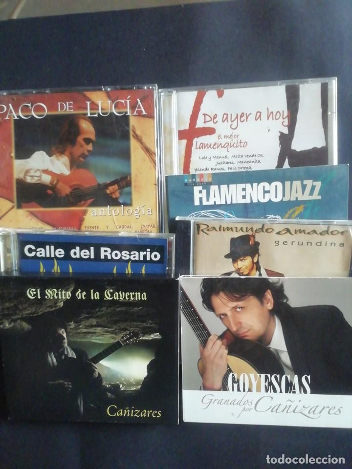 SIETE CD'S DE FLAMENCO (Música - CD's Flamenco, Canción española y Cuplé)