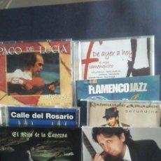 CDs de Música: SIETE CD'S DE FLAMENCO. Lote 218678795