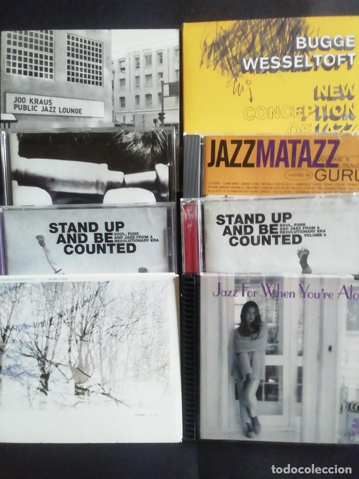OCHO CD'S DE JAZZ CONTEMPORÁNEO (Música - CD's Jazz, Blues, Soul y Gospel)