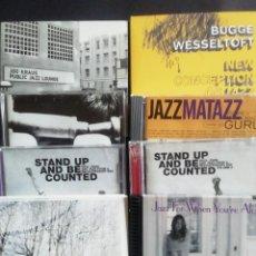 CDs de Música: OCHO CD'S DE JAZZ CONTEMPORÁNEO. Lote 218680756