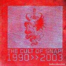 CDs de Música: DOBLE CD ALBUM: SNAP¡ - THE CULT OF SNAP! / 1990⇒⇒2003 - 26 TRACKS - DEBAILE - AÑO 2003. Lote 218683395