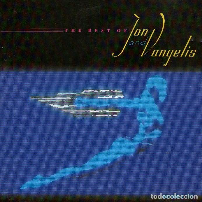 JON & VANGELIS - THE BEST OF JON & VANGELIS - CD ALBUM - 9 TRACKS - SPHERIC BV / POLYDOR - AÑO 1984 (Música - CD's New age)