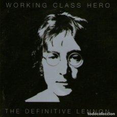 CDs de Música: DOBLE CD ALBUM: JOHN LENNON - THE DEFINITIVE LENNON - 38 TRACKS - EMI RECORDS - AÑO 2005. Lote 218685142