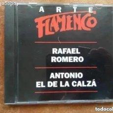 CDs de Música: ARTE FLAMENCO ORBIS. RAFAEL ROMERO. ANTONIO EL DE LA CALZA (CD). Lote 218702236