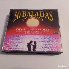 CDs de Música: 50 BALADAS INOLVIDABLES. SOLO CD'S 1 Y 3. TDKCD32. Lote 218709715