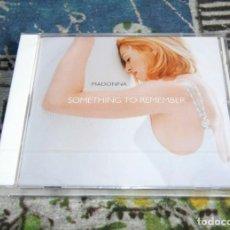 CDs de Música: MADONNA - SOMETHING TO REMEMBER - 9362-46100-2 - MAVERICK - NUEVO Y PRECINTADO - CD. Lote 197401455