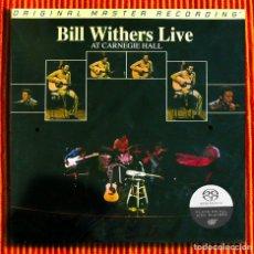 CDs de Música: BILL WITHERS LIVE AT CARNEGIE HALL SACD HÍBRIDO MFSL EDICIÓN LIMITADA Y NUMERADA NUEVO Y PRECINT. Lote 218718128