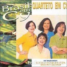 CDs de Música: QUARTETO EM CY – BRASIL EM CY - NUEVO Y PRECINTADO. Lote 228466435