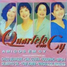 CDs de Música: QUARTETO EM CY – AMIGOS EM CY - NUEVO Y PRECINTADO. Lote 228466365