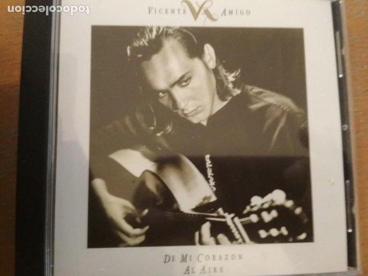 VICENTE AMIGO DE MI CORAZON AL AIRE CD (Música - CD's Flamenco, Canción española y Cuplé)