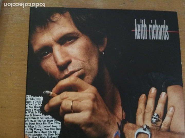 KEITH RICHARDS TALK IS CHEAP CD LIBRETO (Música - CD's Flamenco, Canción española y Cuplé)