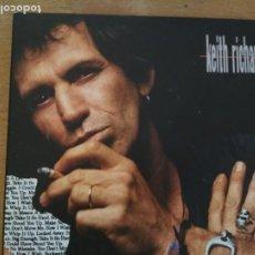 CDs de Música: KEITH RICHARDS TALK IS CHEAP CD LIBRETO. Lote 218731577