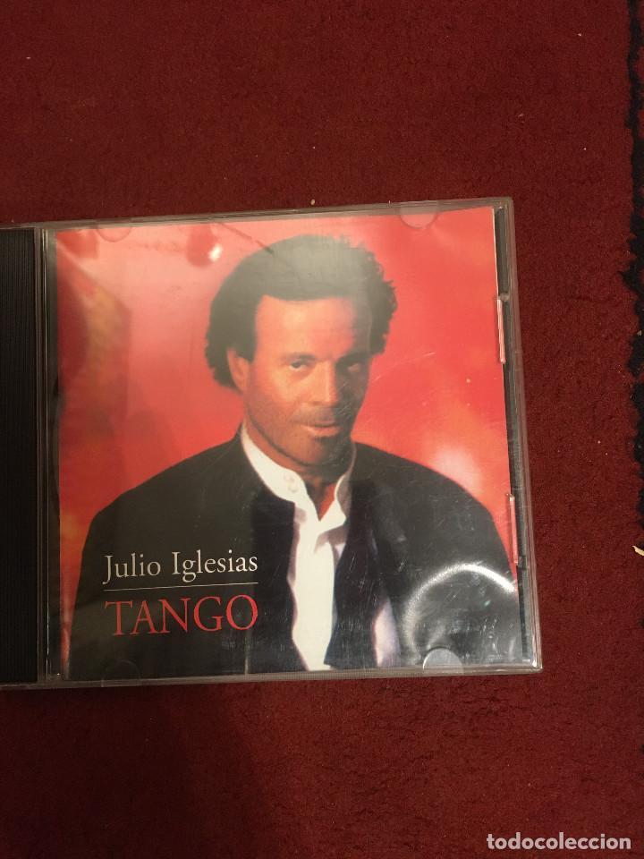 JULIO IGLESIAS - TANGO - CD (Música - CD's Flamenco, Canción española y Cuplé)