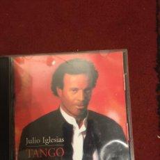 CDs de Música: JULIO IGLESIAS - TANGO - CD. Lote 218735188
