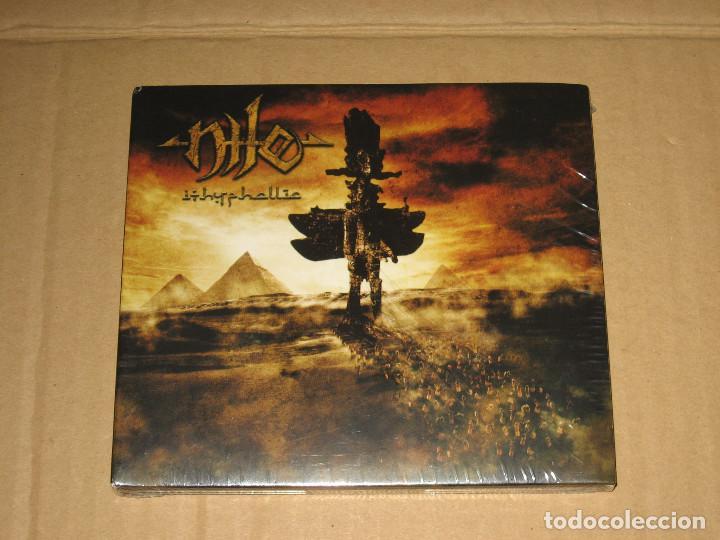 (SIN ABRIR) NILE - ITHYPHALLIC + BONUS TRACK ___ (EDICIÓN LIMITADA) ______ BRUTAL DEATH METAL (Música - CD's Heavy Metal)