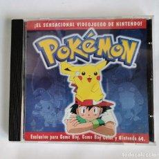 CDs de Música: POKEMON ZAFIRO CD CON VIDEOS Y CANCIONES. Lote 218781710