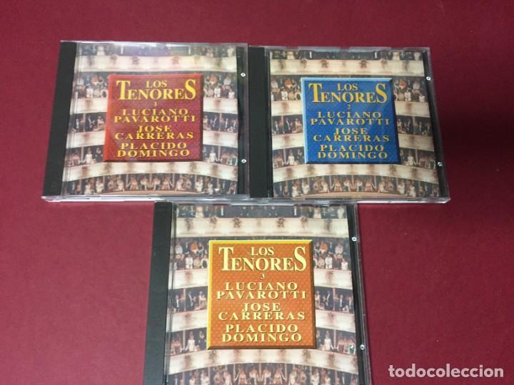 3 CD LOS TENORES LUCIANO PAVAROTTI JOSE CARRERAS PLACIDO DOMINGO (Música - CD's Clásica, Ópera, Zarzuela y Marchas)