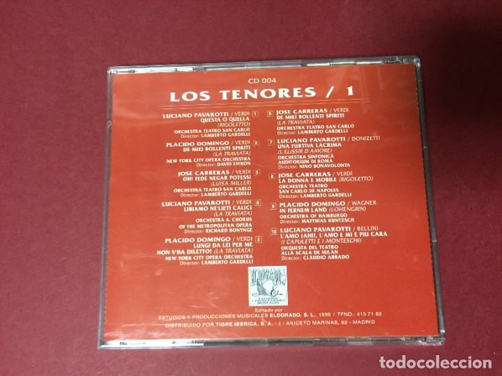 CDs de Música: 3 CD LOS TENORES LUCIANO PAVAROTTI JOSE CARRERAS PLACIDO DOMINGO - Foto 2 - 218825215
