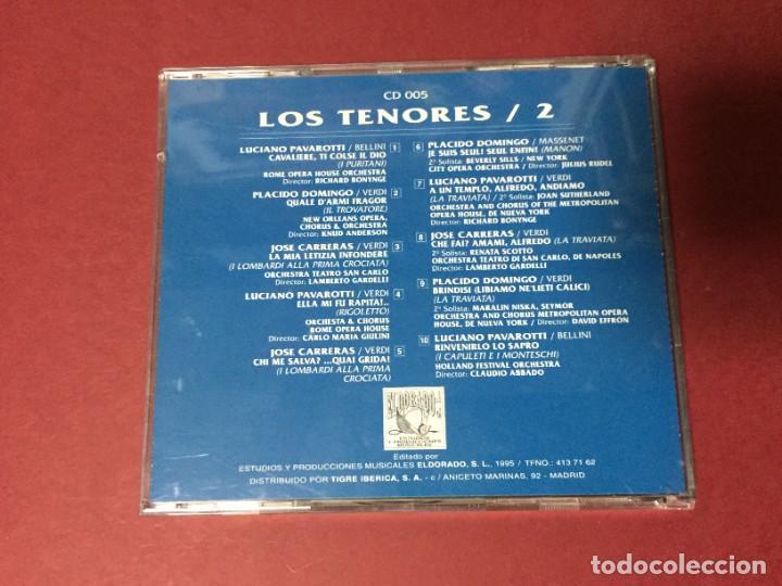 CDs de Música: 3 CD LOS TENORES LUCIANO PAVAROTTI JOSE CARRERAS PLACIDO DOMINGO - Foto 3 - 218825215
