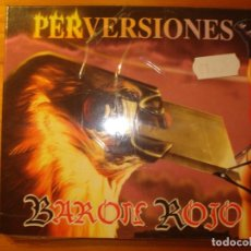 CDs de Música: BARÓN ROJO PERVERSIONES CD ZERO RECORDS. Lote 218832870