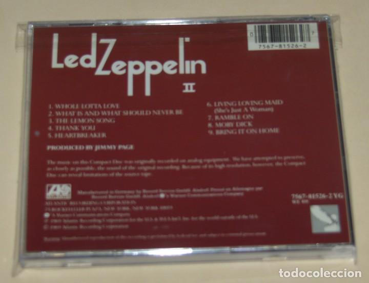 CDs de Música: LED ZEPPELIN - II - Foto 2 - 218838718