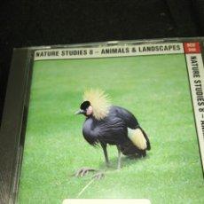 CDs de Música: NATURE STUDIES 8 - ANIMALS & LANDSCAPES . SONOTON LIBRARY MUSIC. Lote 218838967