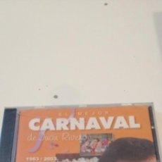 CDs de Música: C-5 CD MUSICA CARNAVAL DE CADIZ NUEVO PRECINTADO EL MEJOR CARNAVAL DE JUAN RIVERO VOLUMEN 4 NUEVO. Lote 218843145