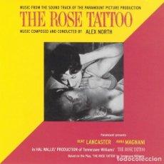 CDs de Música: THE ROSE TATTOO / ALEX NORTH CD BSO. Lote 218846001