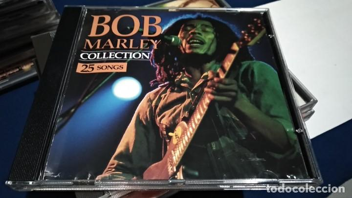 CD ( BOB MARLEY - COLLECTION 25 SONGS ) 1993 SAN JUAN MUSIC (Música - CD's Reggae)