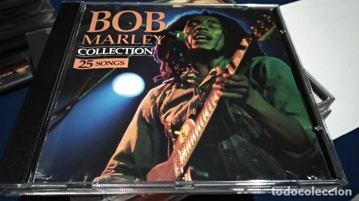 CDs de Música: CD ( BOB MARLEY - COLLECTION 25 SONGS ) 1993 SAN JUAN MUSIC - Foto 2 - 218847450