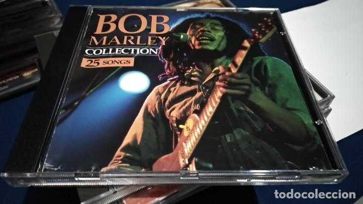 CDs de Música: CD ( BOB MARLEY - COLLECTION 25 SONGS ) 1993 SAN JUAN MUSIC - Foto 3 - 218847450