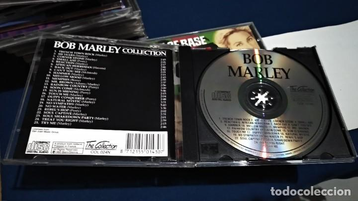 CDs de Música: CD ( BOB MARLEY - COLLECTION 25 SONGS ) 1993 SAN JUAN MUSIC - Foto 5 - 218847450