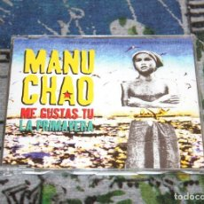 CDs de Música: MANU CHAO - ME GUSTAS TÚ / LA PRIMAVERA - 3 TRACKS - 7243 8976142 9 - VIRGIN - CD-SINGLE. Lote 180110671