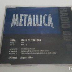 CDs de Música: METALLICA CD SINGLE HERO OF THE DAY. Lote 218873413