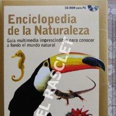 CDs de Música: CD - ROM PARA PC - ENCICLOPEDIA DE LA NATURALEZA -. Lote 218898326
