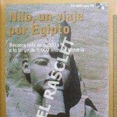 CDs de Música: CD - ROM PARA PC - NILO, UN VIAJE POR EGIPTO -. Lote 218898697