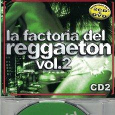 CDs de Música: LA FACTORIA DEL REGGAETON VOL. 2 - MIXEAO BY DJ. MIKI(CDSINGLE CAJA PROMOCIONAL, SOMBRA RECORDS 2003. Lote 218920013