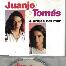 CDs de Música: JUANJO Y TOMAS - A ORILLAS DEL MAR (CDSINGLE CAJA, ARIOLA 1992). Lote 218920306