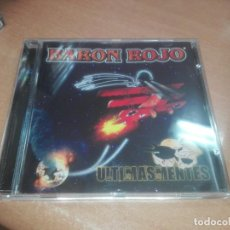 CDs de Música: CD. BARON ROJO. ULTIMAS MENTES. Lote 218936340
